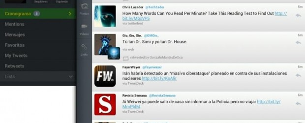 Descargar Tweetcaster gratis, el mejor cliente de Twitter para tablets con Android